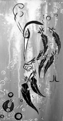 """""""Bird for Face"""" by Jocellynne Lowans"""