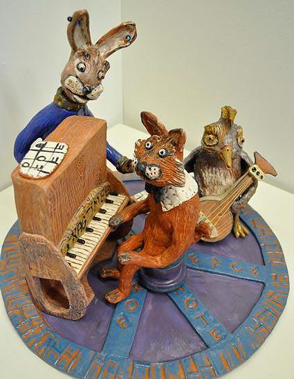 """""""Foxy"""" by Lynn Lavin"""
