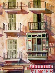 """""""Balconies"""" by Lynn Ferris"""