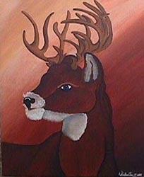 Deer by Kristina Hoffman