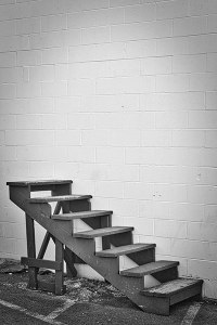 """Stairs to Nowhere"" by Mike Pulsifer"