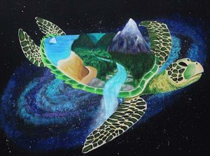 """World Turtle"" by Jessica Amsley"
