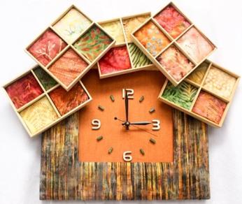 Off the Shelves Hand Made Clocks