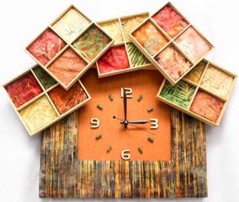 Off the Shelves Hand Made Clocks