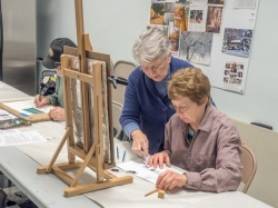 Judith Becker Teaching at the Berkeley Art Works
