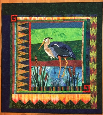 """Heron"" by Linda DeGraf"