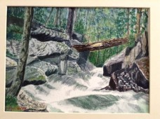"""Rushing Water"" by Lannie Mullenax - Honorable Mention"