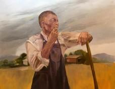 """Storm's a Comin'"" by Ann Sharp - Merit Award"