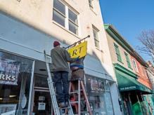 Sign Installation November 29, 2017