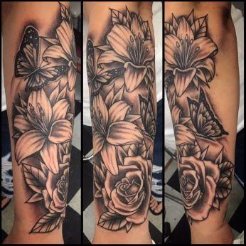 Arms - JJ Hayden, Cherry Bomb Tattoo