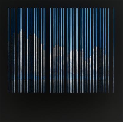 """""""Hommage"""" by Dan Morro; Oil on panel; NFS (29in x 29in x 2in)"""