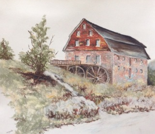 Bedinger Mill at Lick Run Plantation (c 1816)